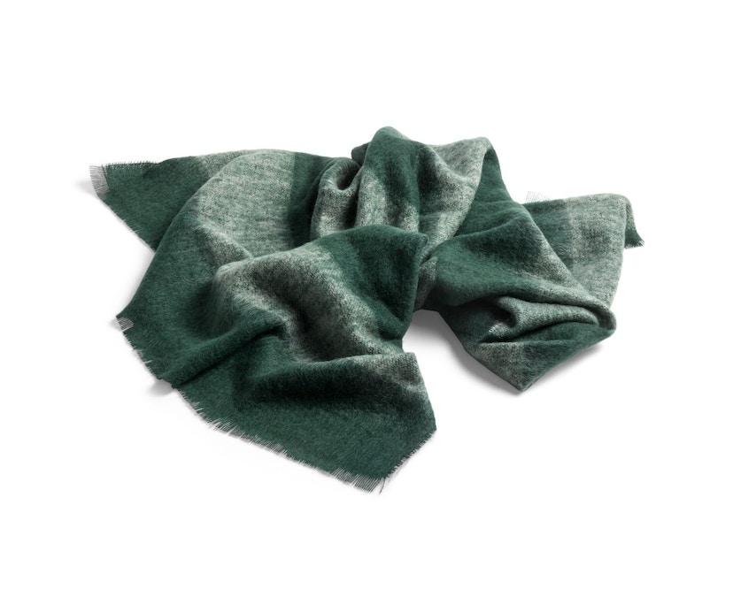 HAY - Mohair Decke - green - 2