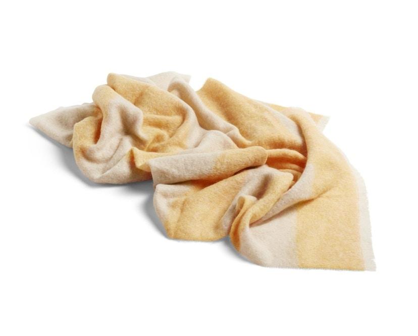 HAY - Mohair Decke - yellow - 1