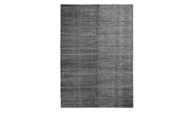 HAY - Moiré Teppich - schwarz - 140x200 - 1