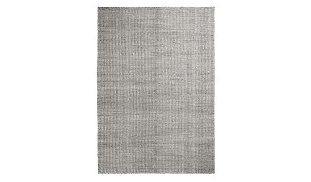 HAY - Moiré Teppich - grau - 140x200 - 1