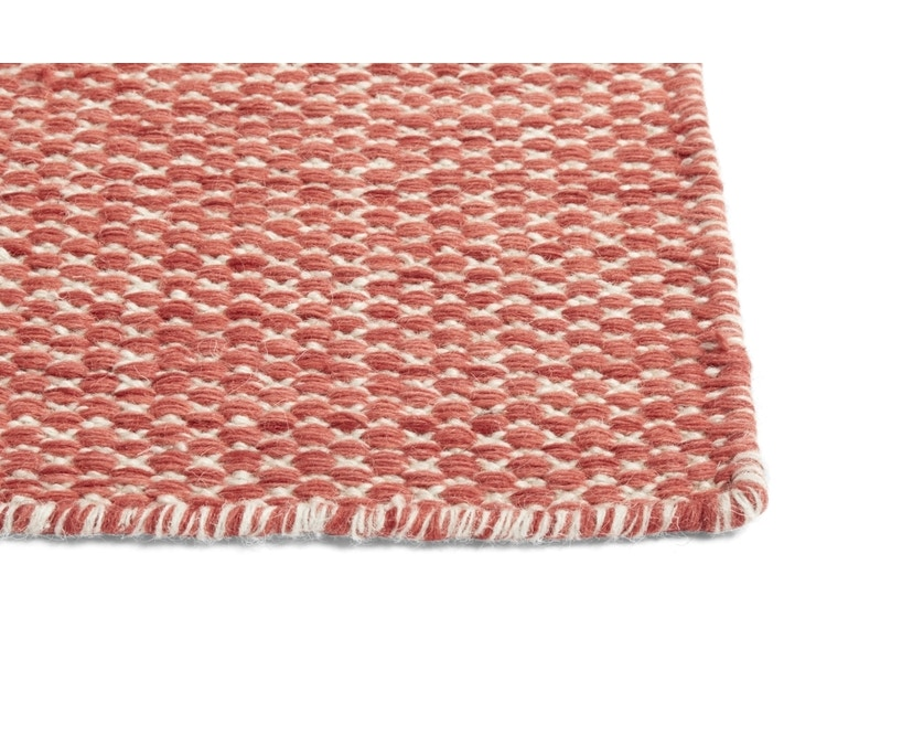HAY - Moiré Teppich - koralle  - 140x200 - 2