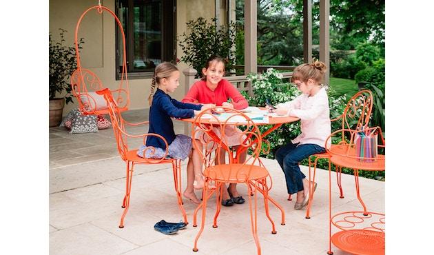 Fermob - MONTMARTRE Tisch Ø 96 cm - 01 Baumwolle - 7
