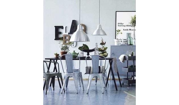 Tolix - A56 Armlehnstuhl - indoor - weiß matt - Produktauslauf 2017 - 7