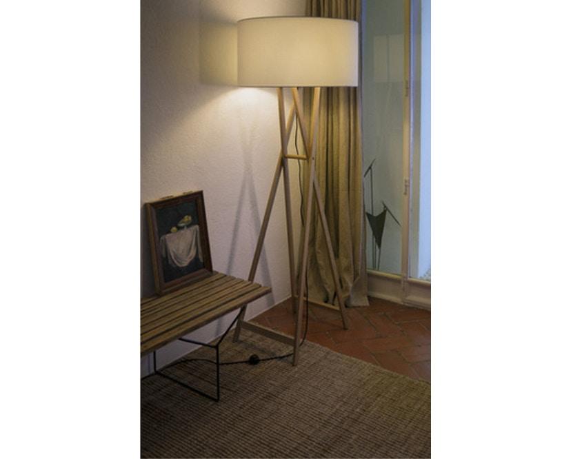 Marset - Cala P165 Stehleuchte Indoor - Eiche - Pearl - 3