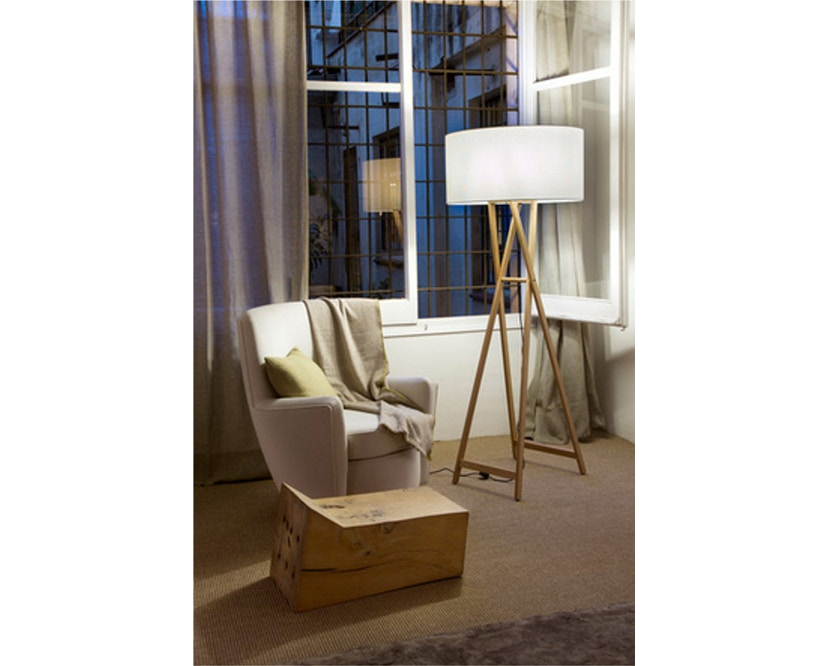 Marset - Cala P165 Stehleuchte Indoor - Eiche - Pearl - 4