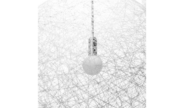 Moooi - Random Floor Lamp LED - wit - Hoogte 187//Ø 50cm - 3