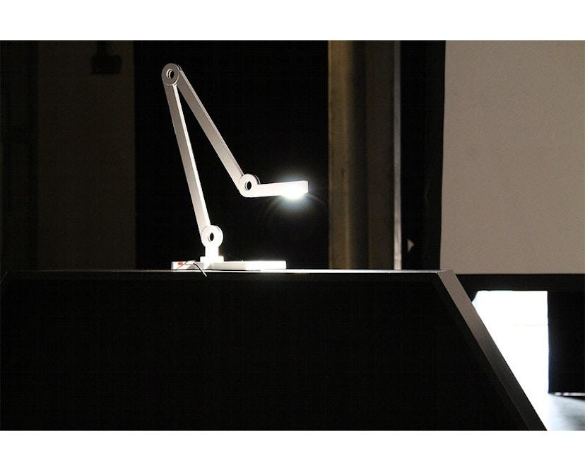 Senses - Mooove Tischleuchte mit Tischklemme - Mini - weiß - 10