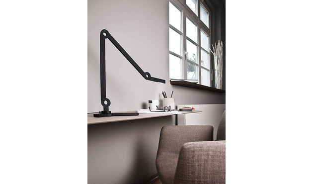 Senses - Mooove Tischleuchte mit Tischklemme - Mini - schwarz - 7