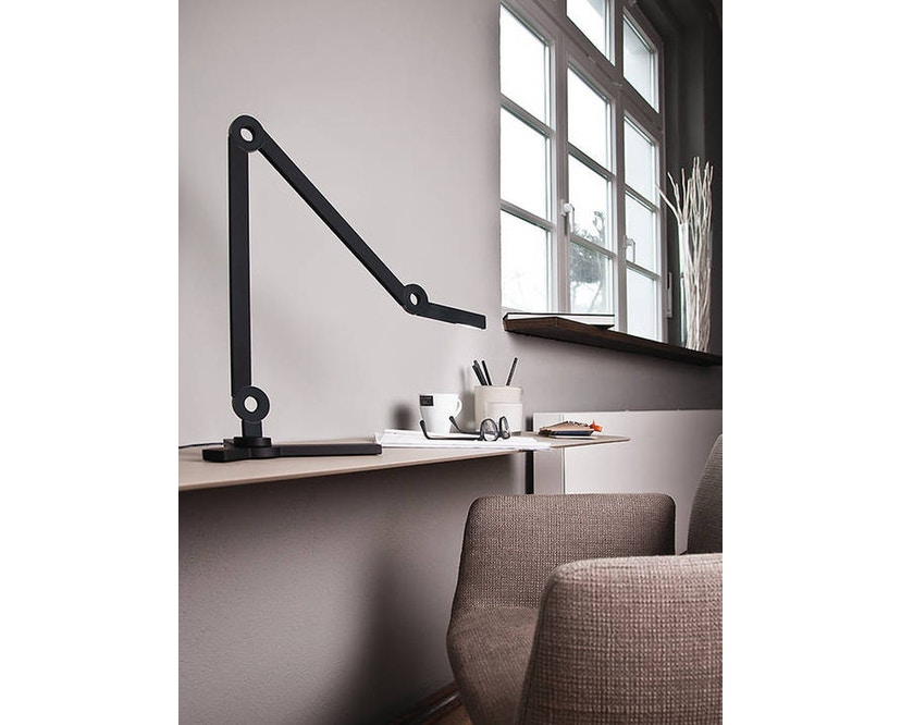 Senses - Mooove Tischleuchte mit Tischklemme - Mini - weiß - 8