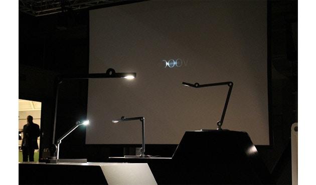 Senses - Mooove Tischleuchte mit Tischklemme - Mini - weiß - 9