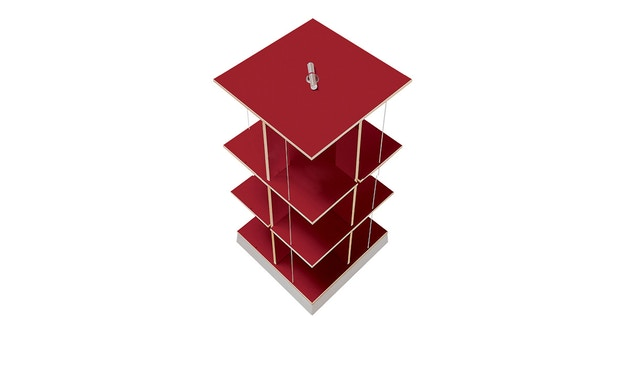 Moormann - Buchstabler M - boekentoren - rood (FU) - S - 1