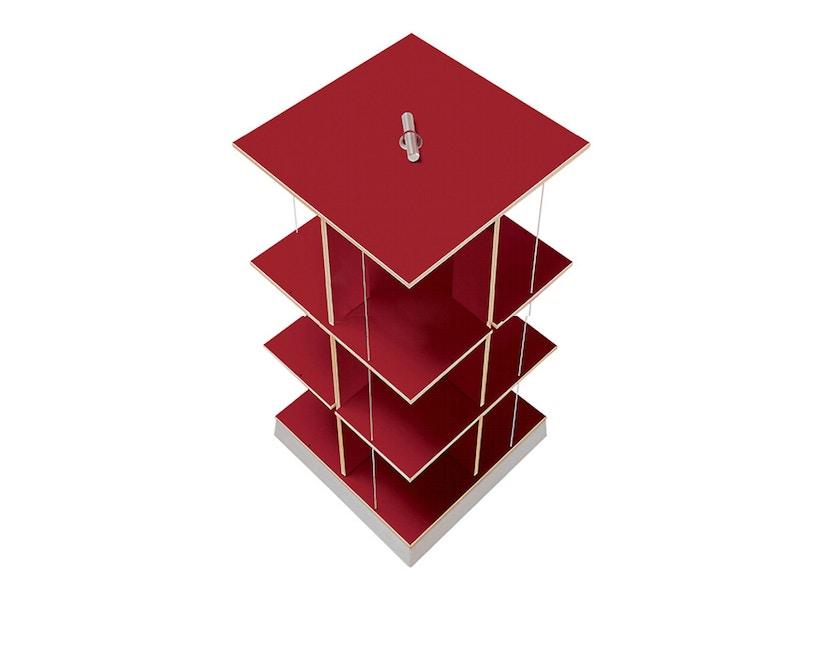 Moormann - Buchstabler - Bücherturm S - rot - 1