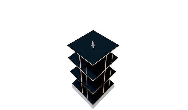 Moormann - Buchstabler - Bücherturm S - schwarz - 1