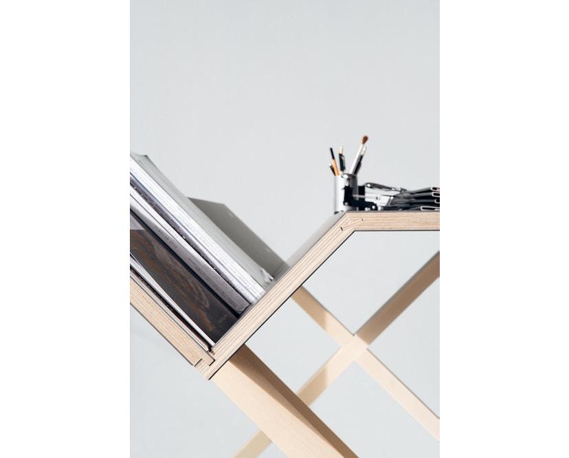 Moormann - Kant Tisch - groß/weiß - 4