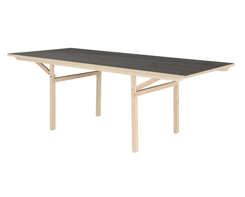 Moormann - Klopstock Tisch S - Melaminharz anthrazit - 1