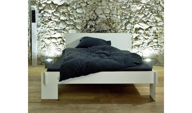 Moormann - Siebenschläfer Bett mit Kopfteil - 90 x 200 cm - weiß - 5