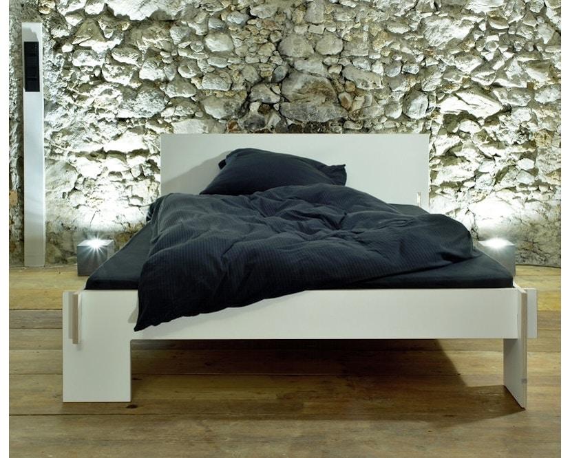 Moormann - Siebenschläfer Bed met hoofdeinde - zwart - zwart (FU) - 140 x 200 cm - 4