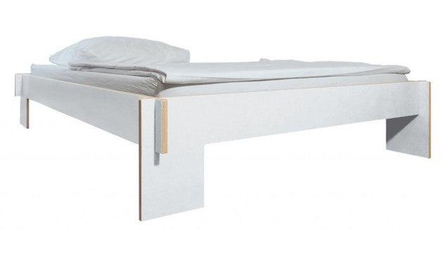 Moormann - Siebenschläfer bed - wit - wit (FU) - 140 x 200 cm - 1