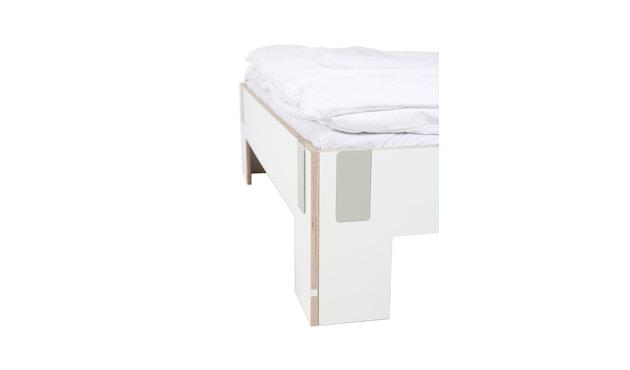 Moormann - Tagedieb bed met hoofdeinde - 90 x 200 cm - wit (FU) - 3