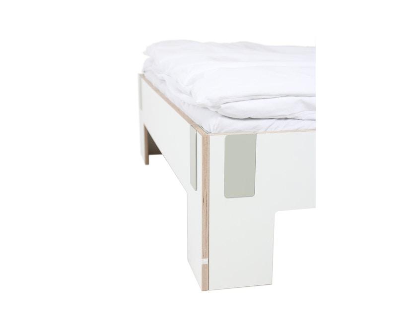 Moormann - Tagedieb Bett - 90 x 200 cm - weiß - 4