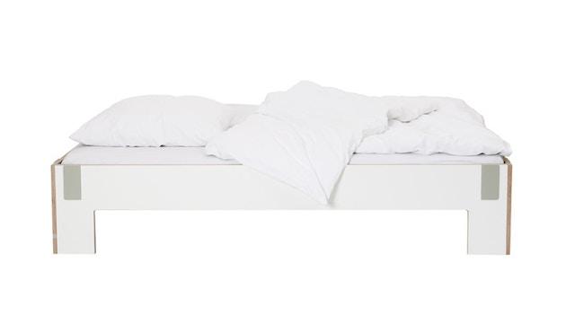 Moormann - Tagedieb Bett - 90 x 200 cm - weiß - 5