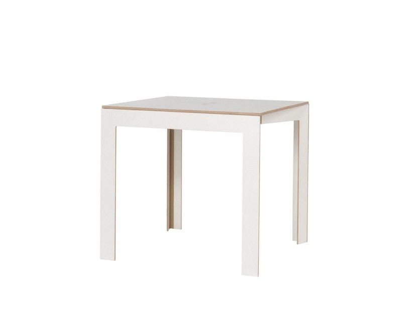 Moormann - Tisch Last Minute - weiß - 1
