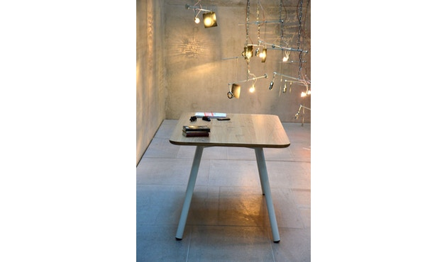 Jan Kurtz - Table Morador - blanc - Chêne - 150 cm - 2