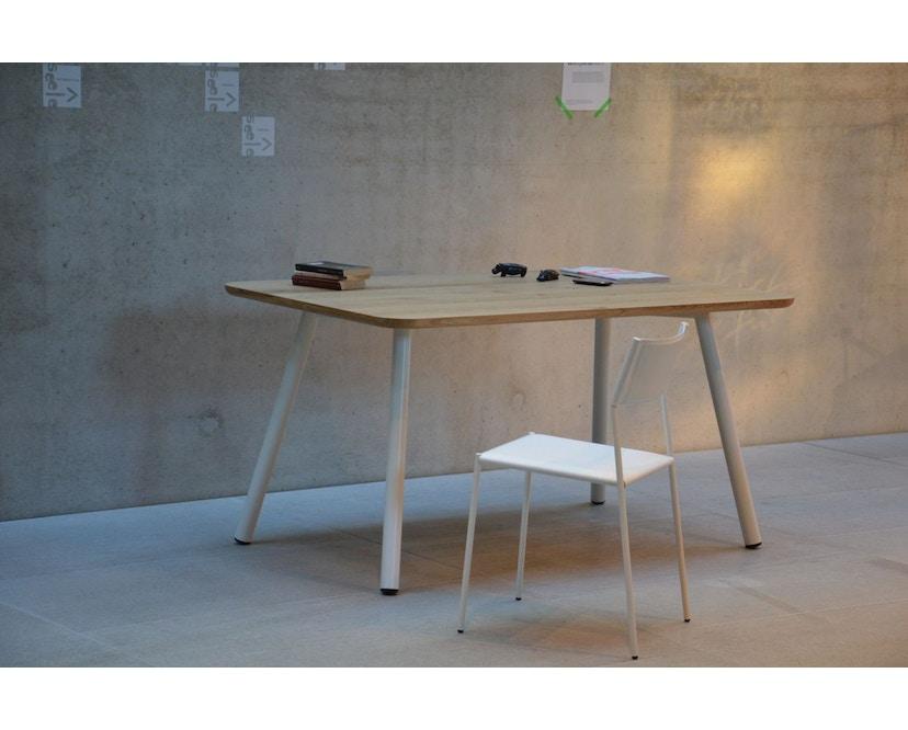 Jan Kurtz - Morador Tisch - Eiche - 150 cm - weiß - 3