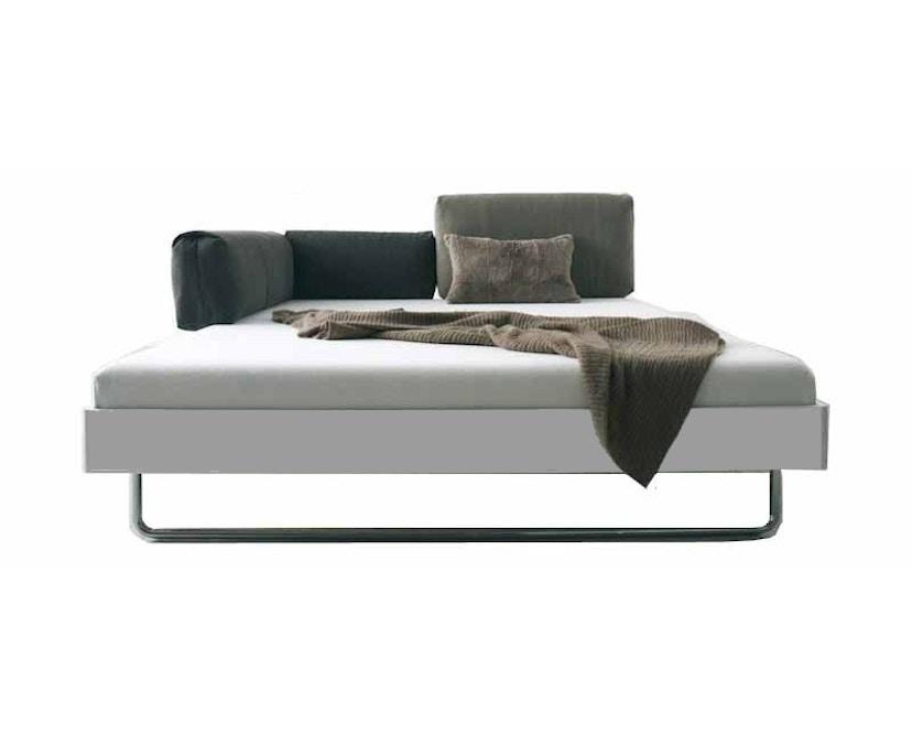more - Nova Bett - 180 x 200 cm - Aluminium Rahmen - Bettfuß 2 - 200 x 200 cm - 1