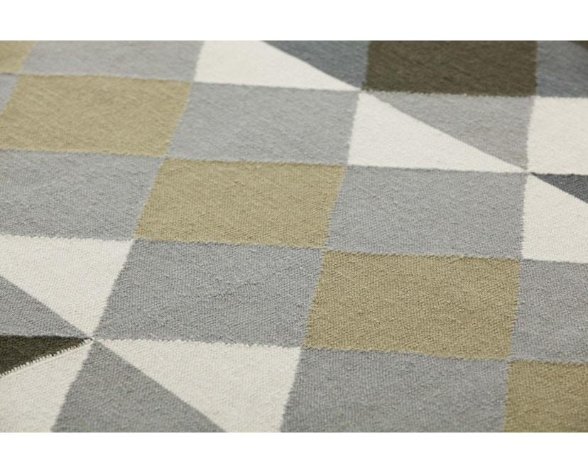 Gan - Mosaïek Teppich – 170 x 240 cm - grau - 2