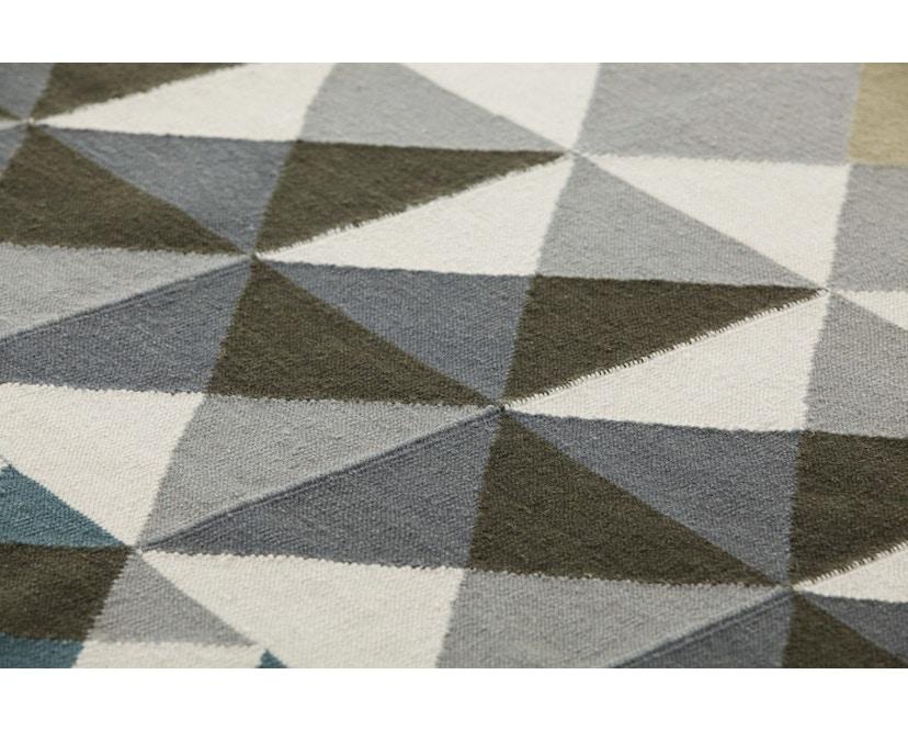 Gan - Mosaïek Teppich – 170 x 240 cm - grau - 3