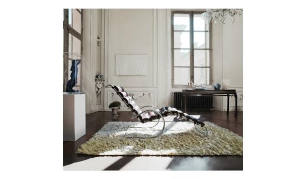 Knoll International - MR Lounge Liege mit Armlehnen - verstellbar - Volo schwarz - 1