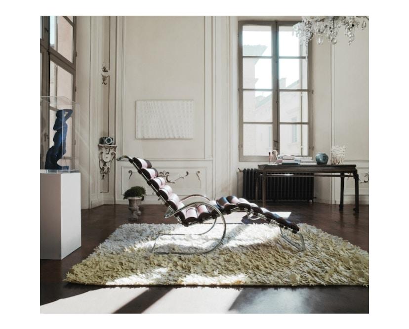 Knoll International - MR Lounge Ligstoel met armleuningen verstelbaar - Volo Black - zwart - 1