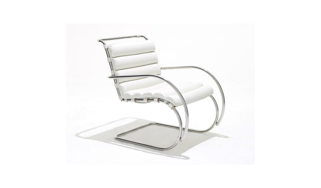 Knoll International - MR Armleunstoel - Volo Black - zwart - 1