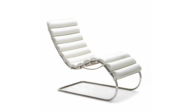 Knoll International - MR Lounge Ligstoel - Volo Black - zwart - 0