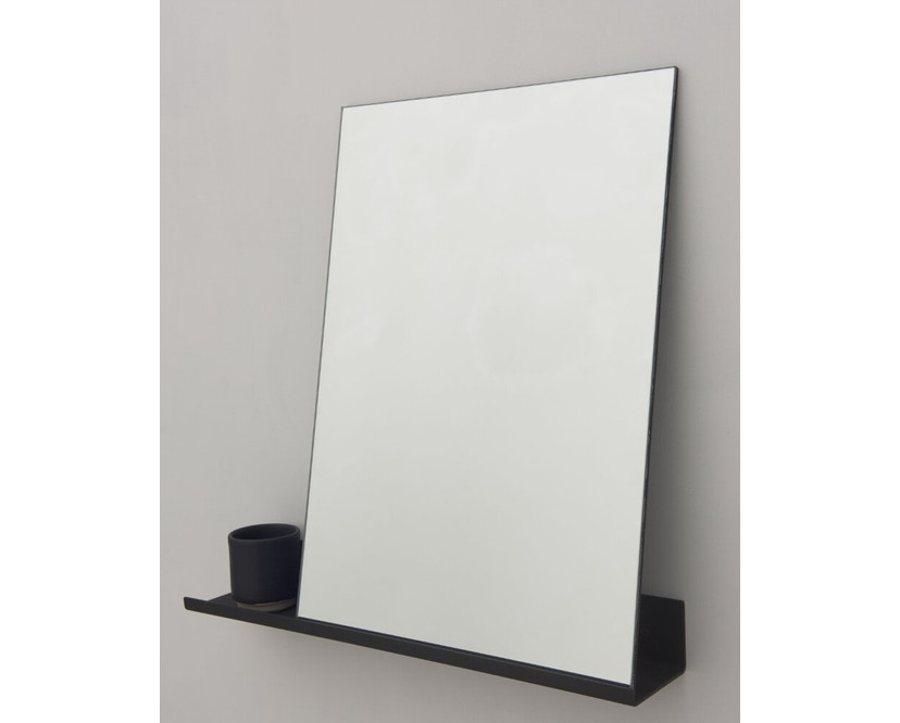 Frama - MS-1 spiegel - zwart gepoedercoat - 70 cm breed - 1