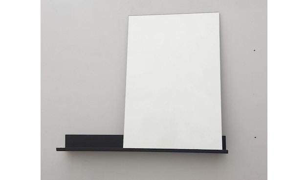 Frama - MS-1 spiegel - zwart gepoedercoat - 70 cm breed - 2