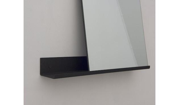 Frama - MS-1 Spiegel - schwarz pulverbeschichtet - Breite 70 cm - 3