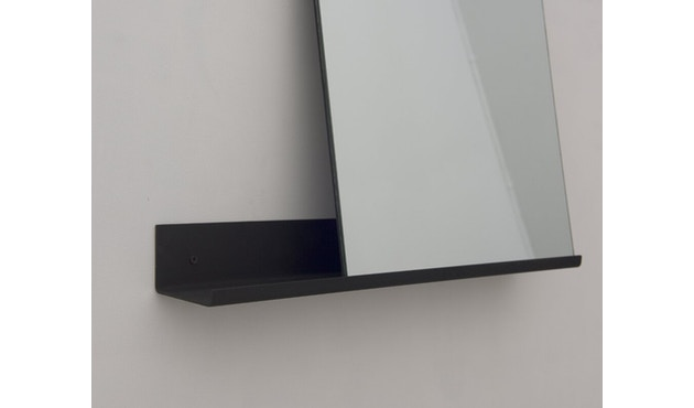 Frama - MS-1 spiegel - zwart gepoedercoat - 70 cm breed - 3
