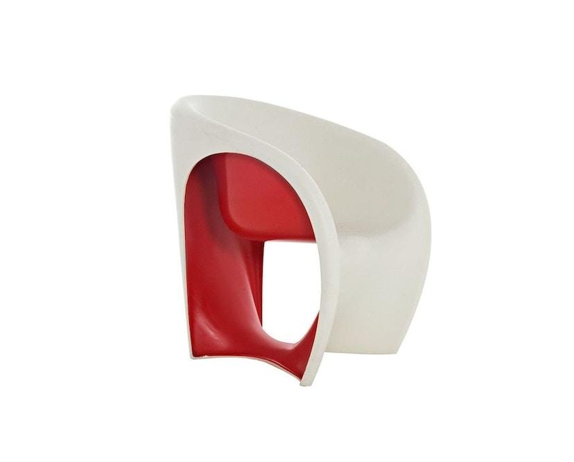 Driade - MT1 Outdoor Armlehnstuhl - Sandweiß/Rot  - 4