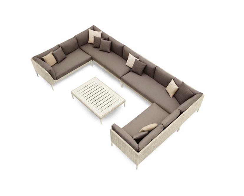 Dedon - Mu salontafel HPL - bruin - S - 3