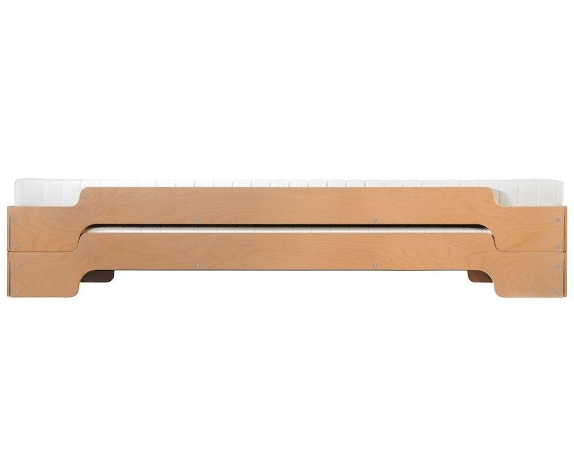 Müller Möbelwerkstätten - Stapelbed Comfort - 90 x 190 cm - Beuk natuur, gelakt - 2