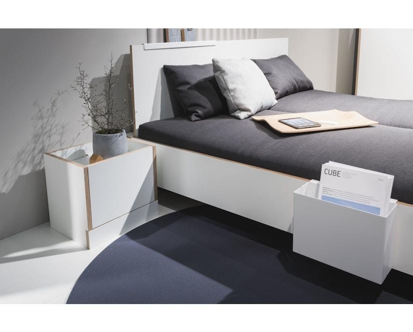 Müller Möbelwerkstätten - Flai Bett - CPL weiß - 140 x 200 - 9