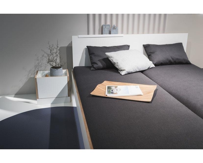 Müller Möbelwerkstätten - Flai Bett - CPL weiß - 140 x 200 - 11