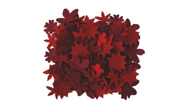 Nanimarquina - Little field of flowers vloerkleed - rood - 80 x 140 cm - 3