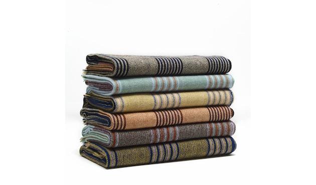 Ames - Mulera Decke - grün/lachs/wein - 3