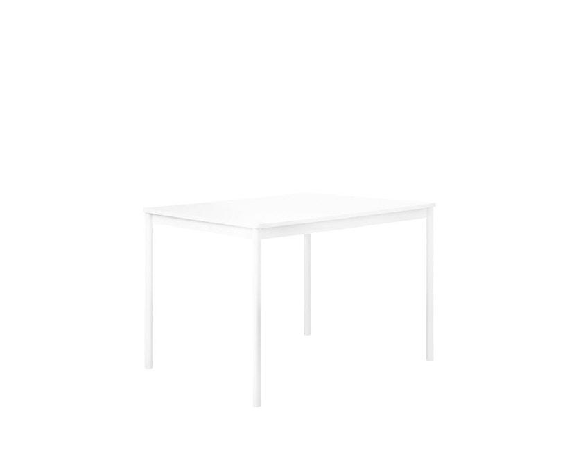 Muuto - Base Tisch rechteckig - S - weiß/ weißes Laminat - ABS - 3