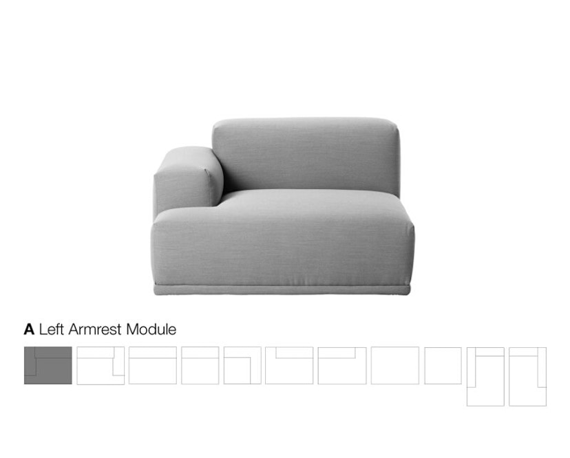 Muuto - Connect 2- Sitzer Sofa - 2