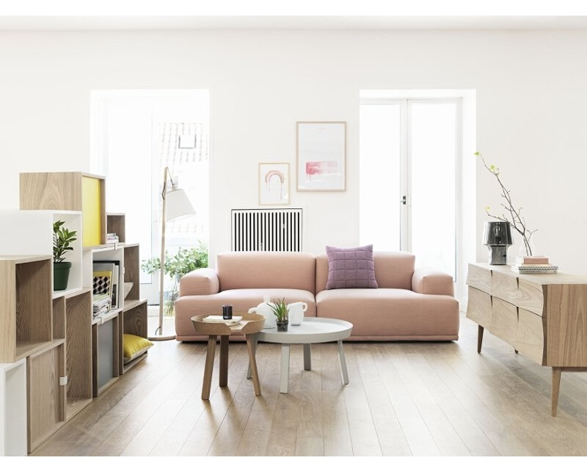 Muuto - Connect 2- Sitzer Sofa - Remix 123 - 5