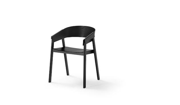 Muuto - Cover Stuhl - schwarz - 1